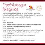 Fræðsludagur félagsliða 20.september n.k